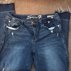 Seven 7 skinny easy fit size 10